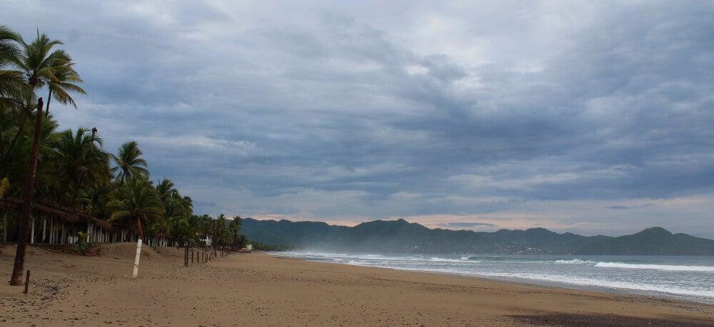 Playa Boca de Iguanas en México