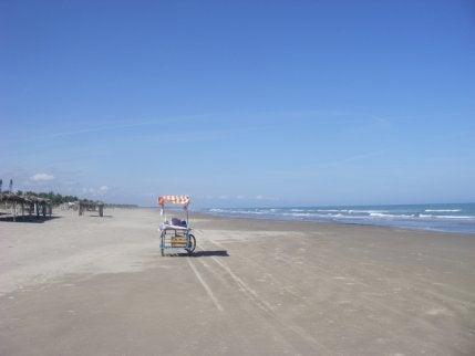 Playa de Tecolutla en México