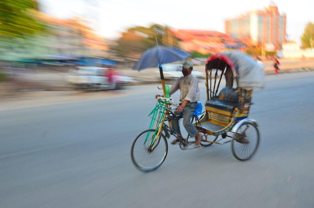 Rickshaw vacío