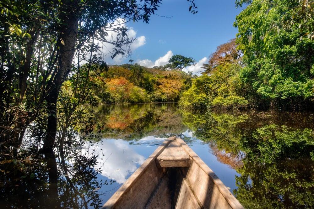 Selva amazónica en Colombia