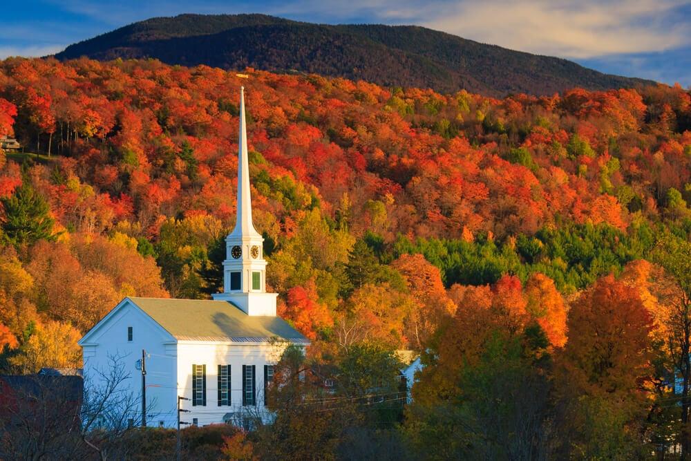 Stowe en Vermont