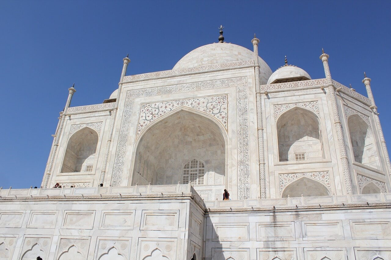 Frontal del Taj Mahal