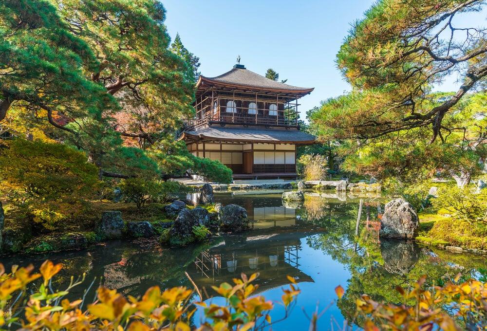 Templo Ginkakuji en Kioto