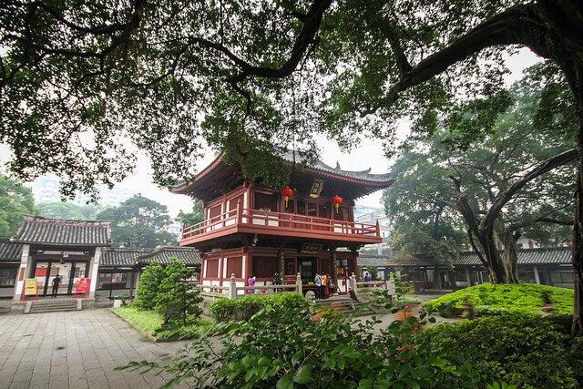 Templo Guang Xiao en Guangzhou