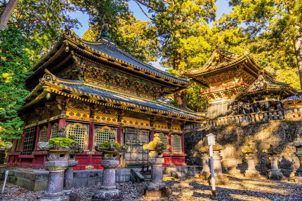 Templo en Nikko en Japón