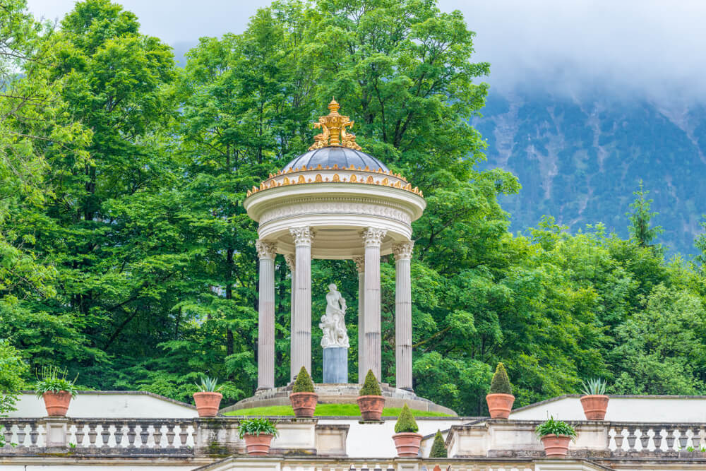 Templo de Venus en el palacio de Linderhof