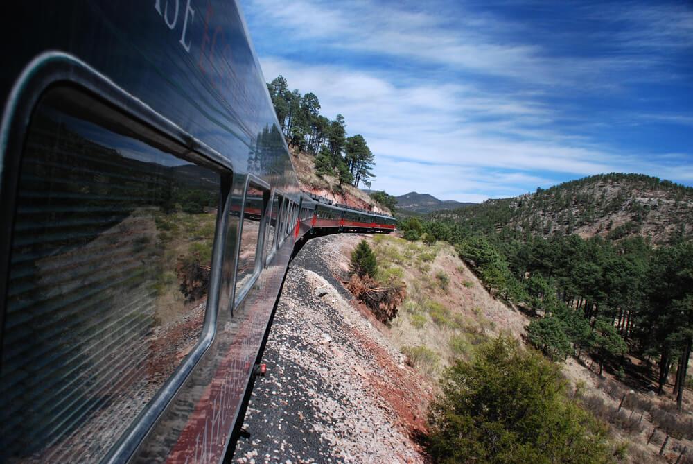 Tren del Chepe en las Barrancas del Cobre