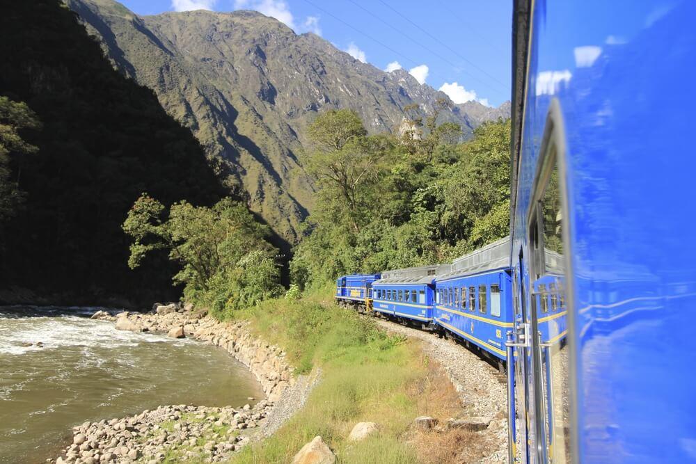 Tren de Cuzco a Machu Picchu