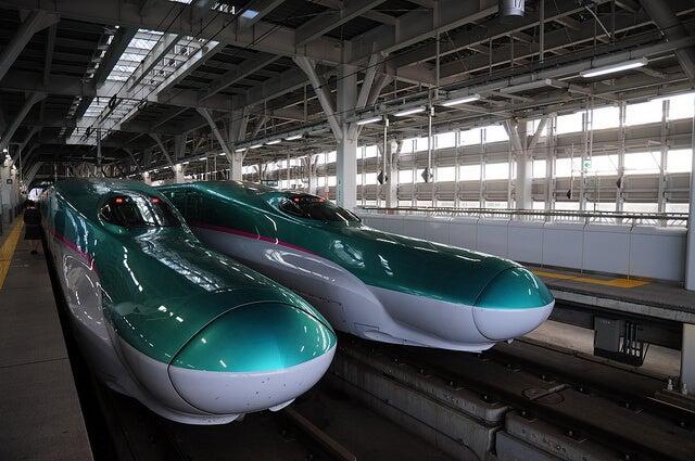 Trenes bala en Japón