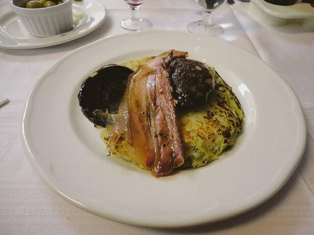 Trinxat, plato de Andorra