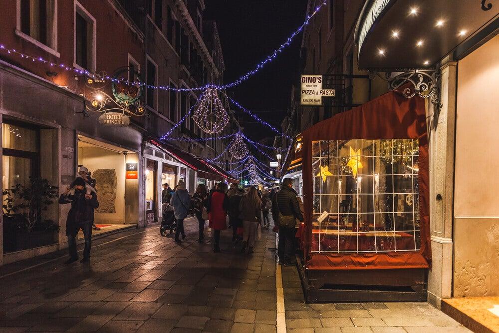 Venecia en Navidad