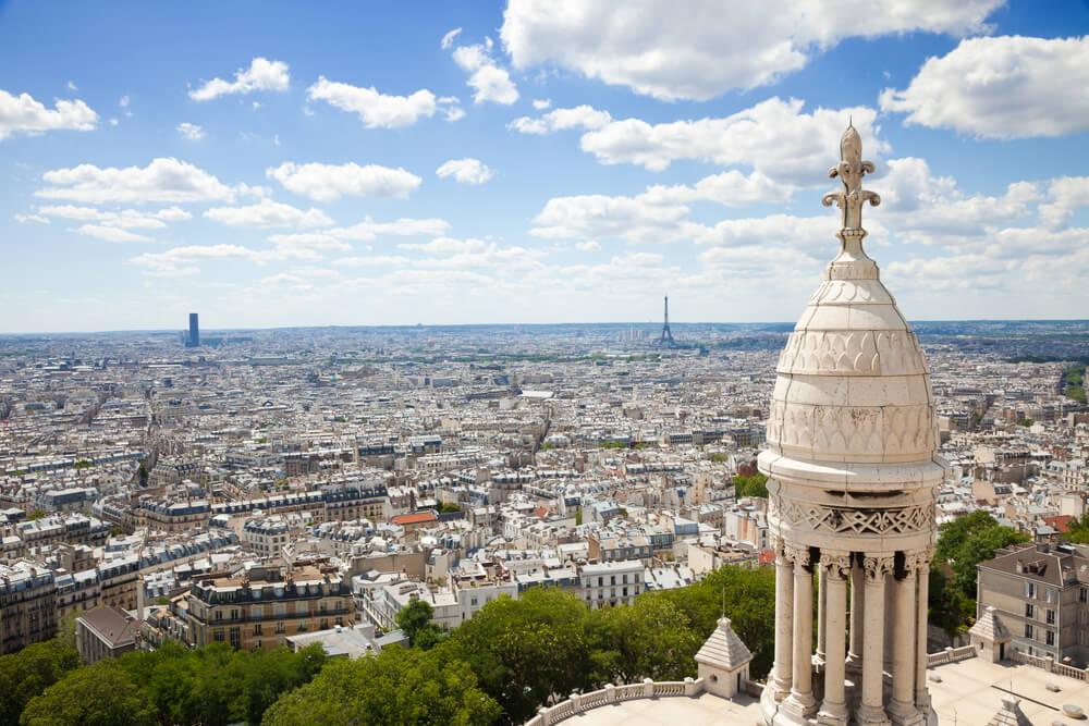 Vista desde el Sagrado Corazón en Montmartre