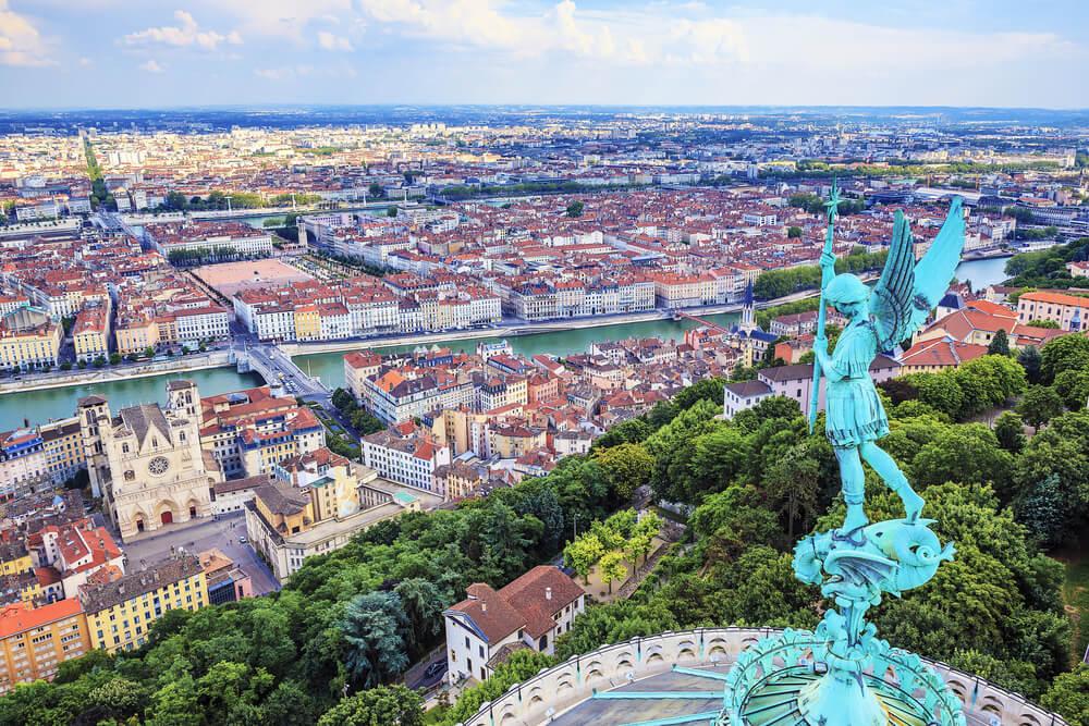 Vieux Lyon y Fourvière
