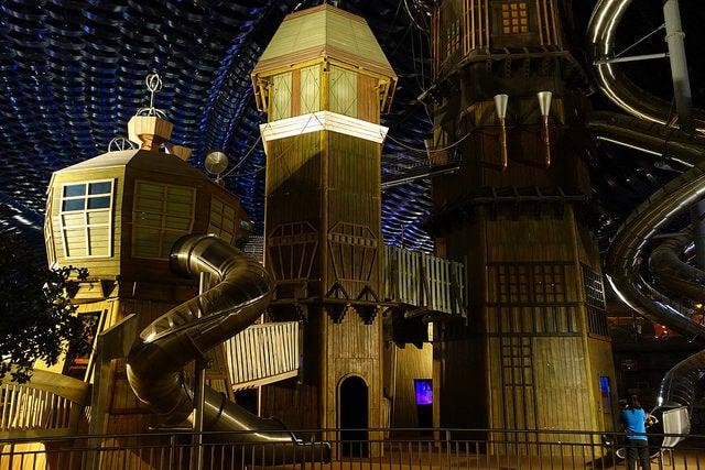 IMG Worlds of Adventure, uno de los parques de atracciones más increíbles