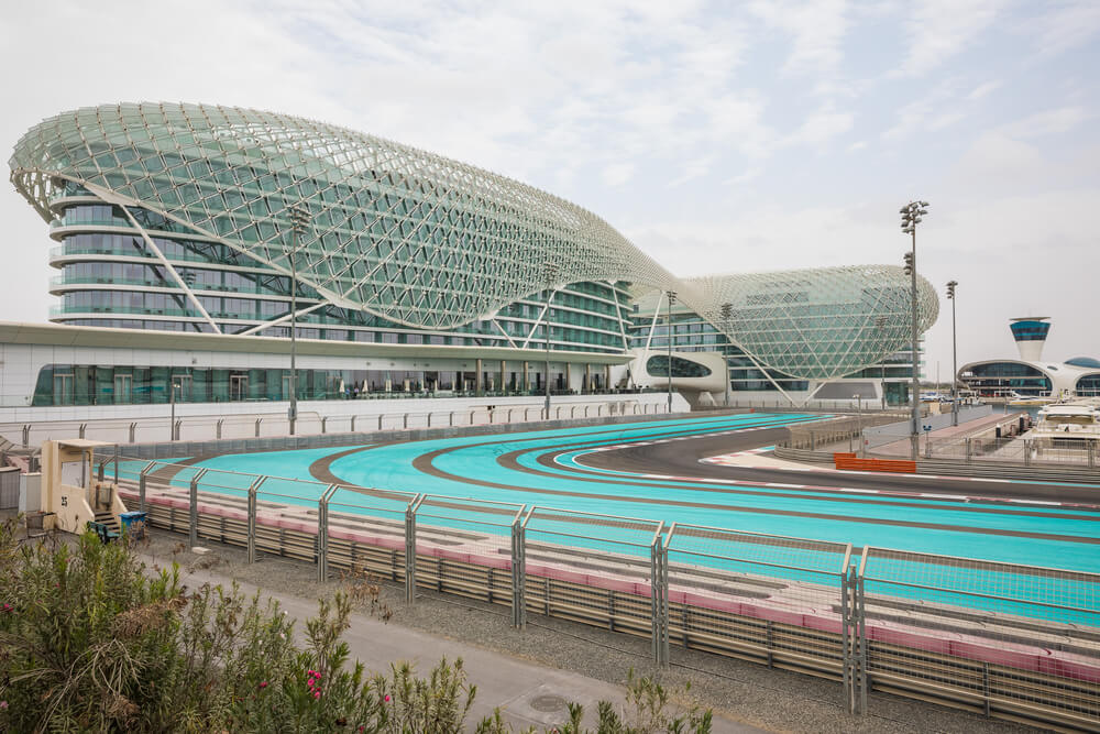 Yas Marina Circuit en Abu Dabi