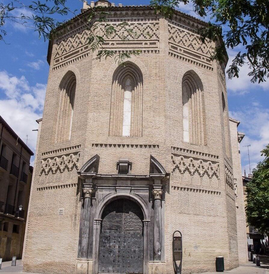 Ábside de la iglesia de Santa María Magdalena