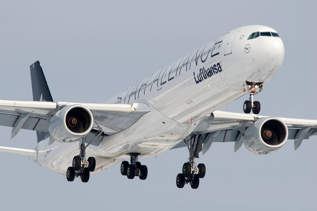 airbus de Lufthansa