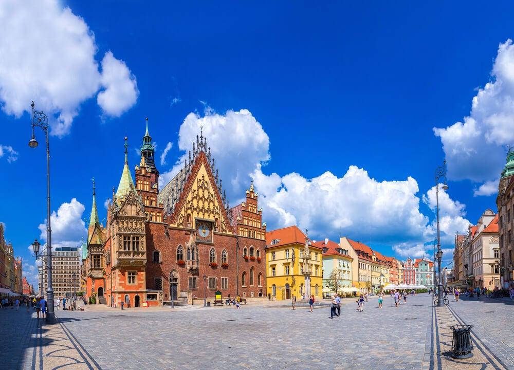 Antiguo ayuntamiento de Wroclaw