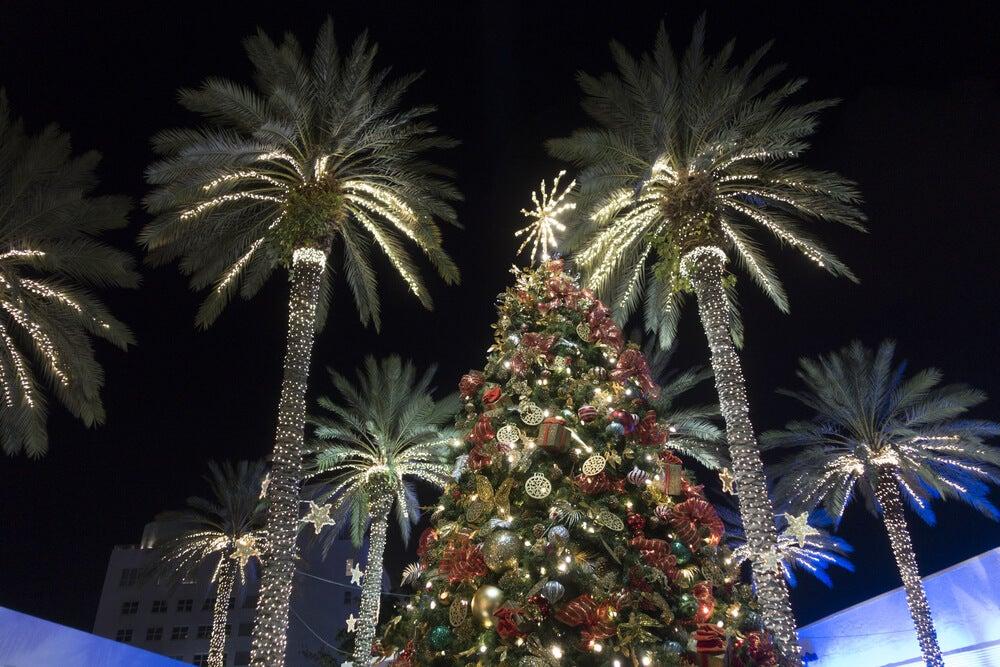 Luces de Navidad en Miami