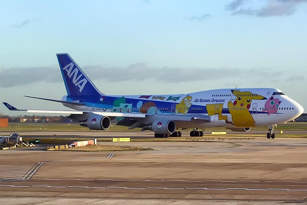 Boeing 747 de ANA, una de las mejores aerolíneas