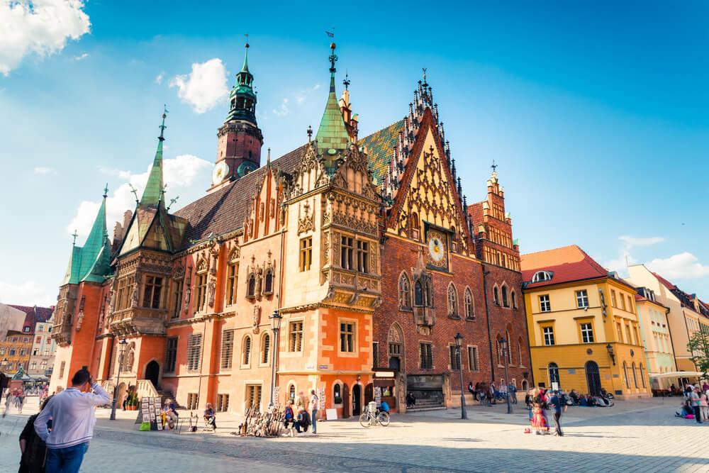 Descubre el ayuntamiento en la Rynek de Wroclaw