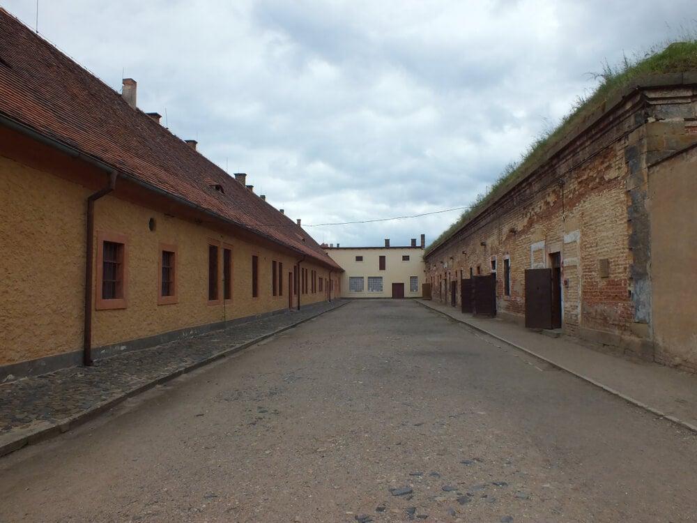 Barracones del campo de concentración de Terezín