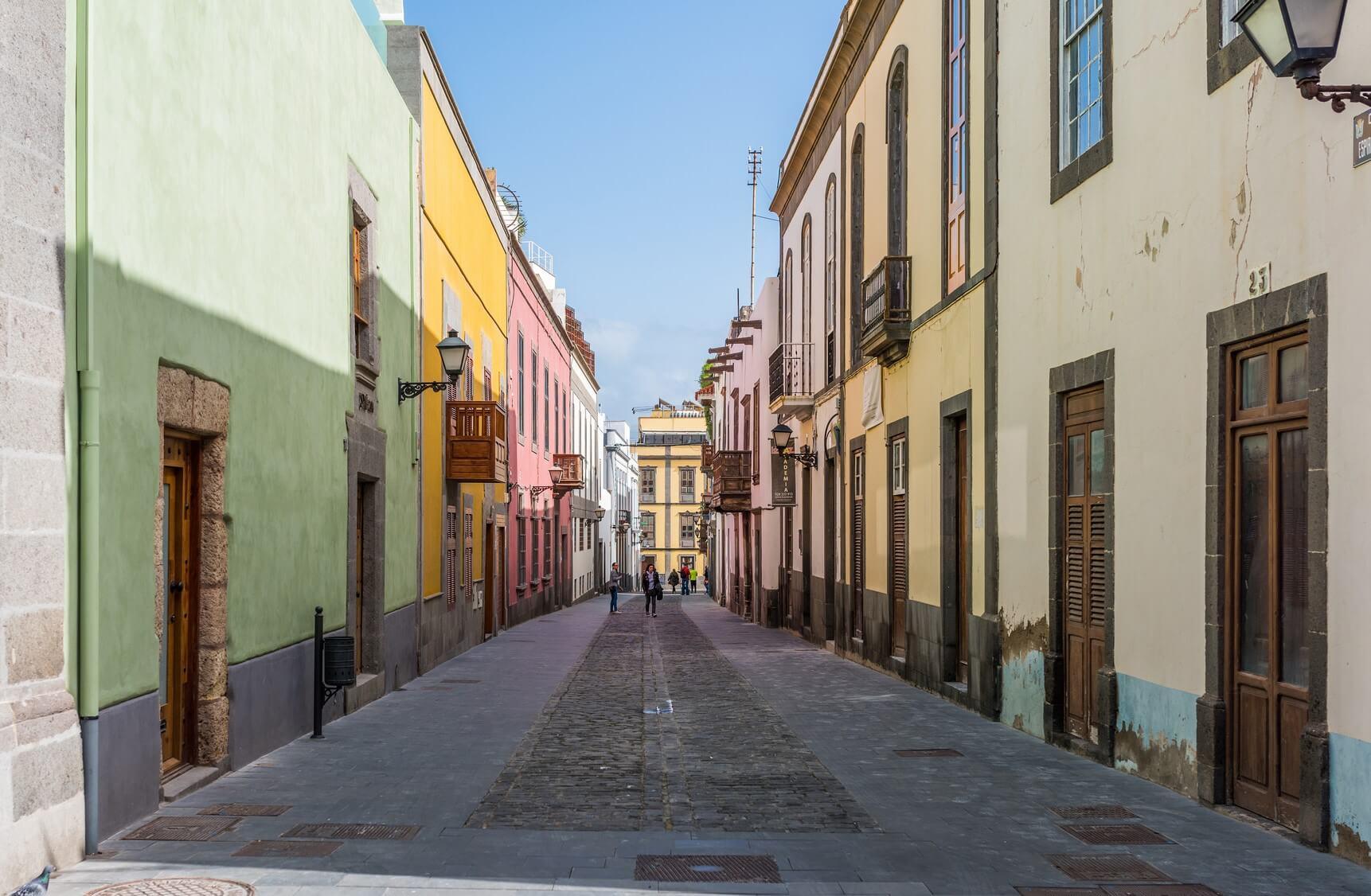 Barrio de Vegueta en Las Palmas de Gran Canaria