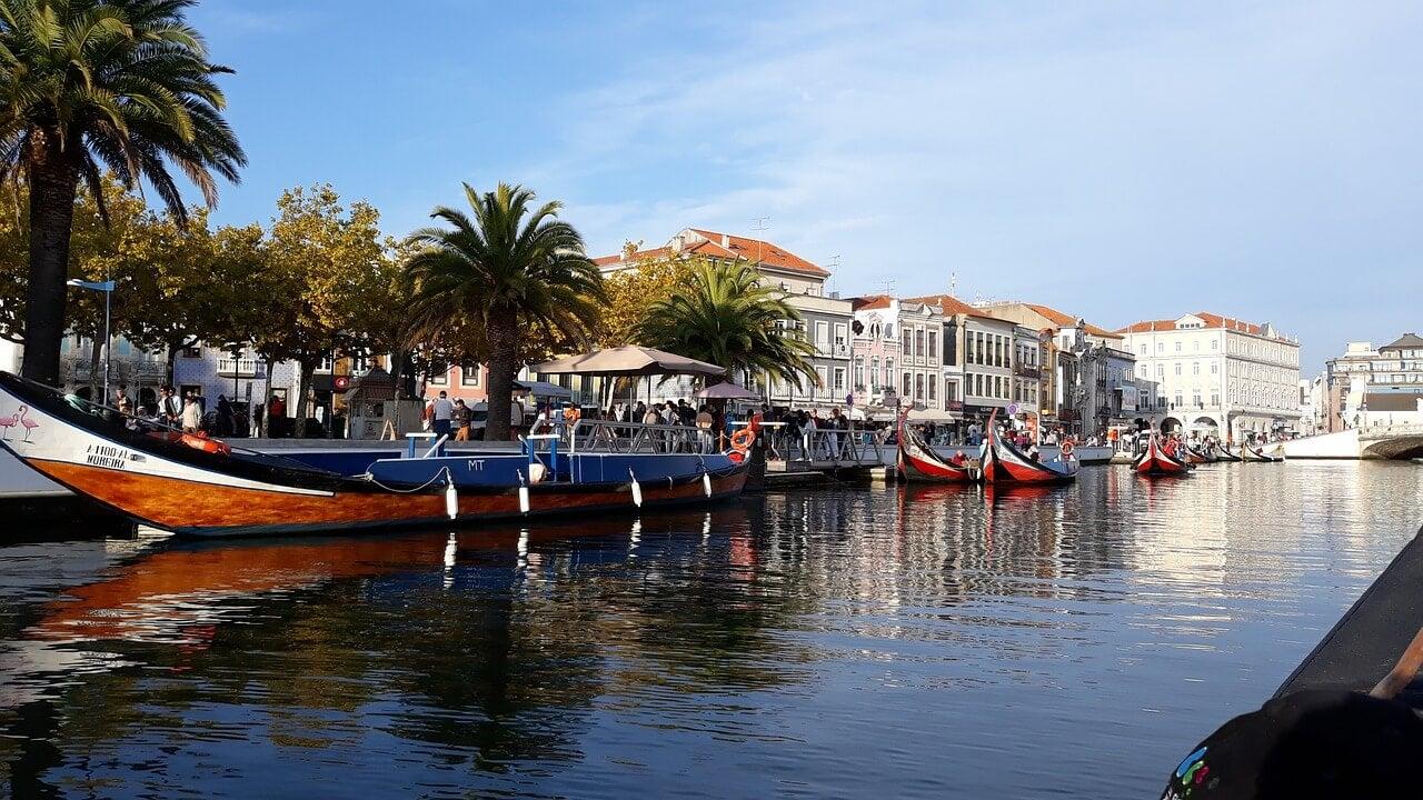 Canal en Aveiro
