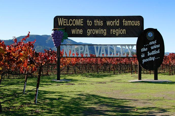 Cartel del valle de Napa
