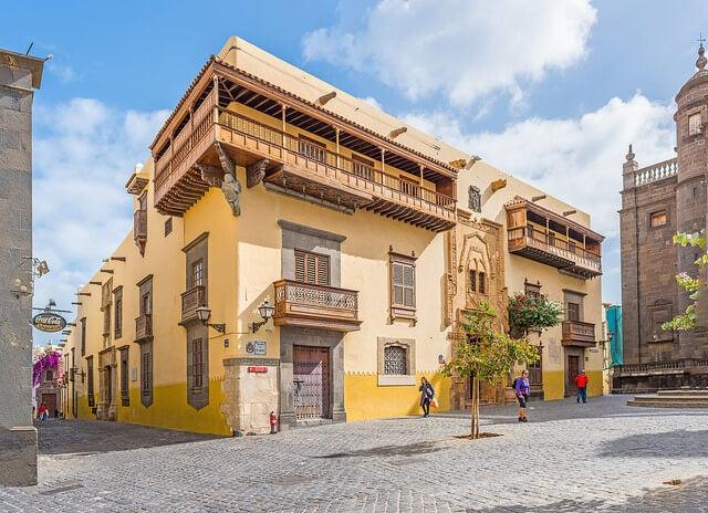 Casa de Colón, una de las cosas que visitar en Las Palmas de Gran Canaria