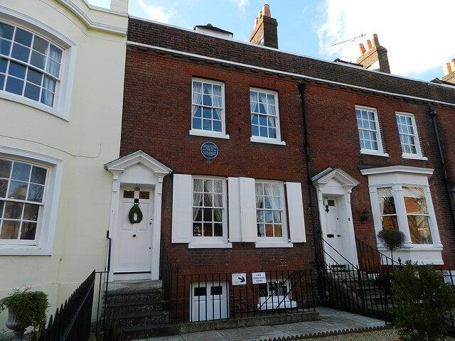 Casa-museo de Dickens en Portsmouth