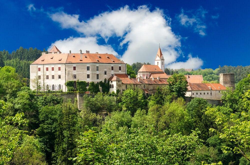 Castillo de Bitov en la República Checa
