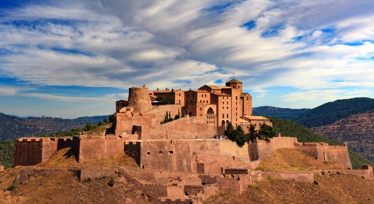 El castillo de Cardona, un lugar lleno de leyendas
