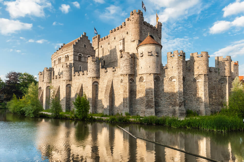 Castillo de Gante en Bélgica