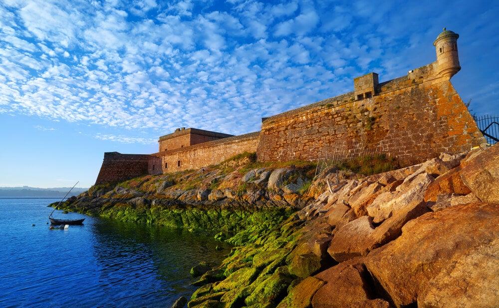 Castillo de San Antón en A Coruña