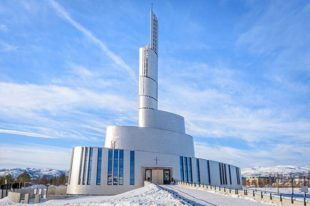 Catedral de Alta en Noruega