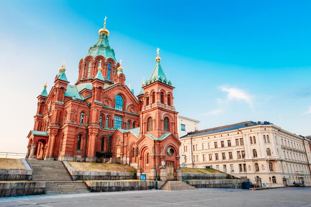 Catedral Upenski en Helsinki