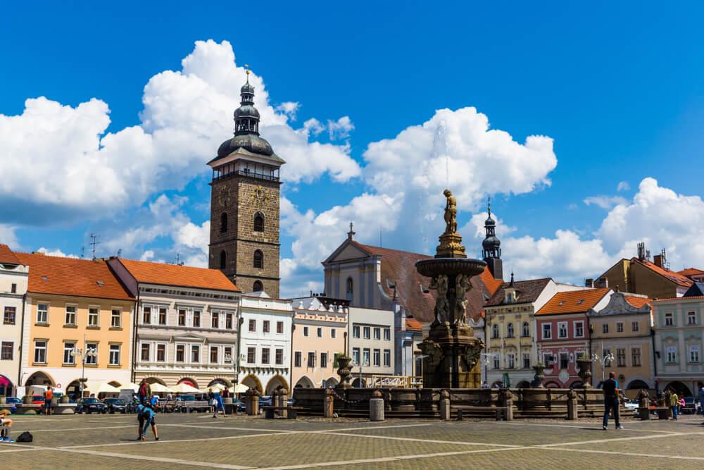 Plaza de Ceske Budejovice