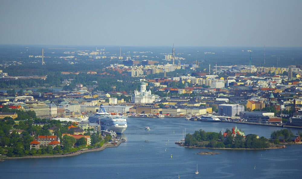Crucero en Helsinki