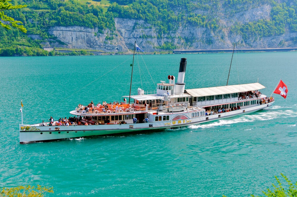 Crucero en el lago Lucerna