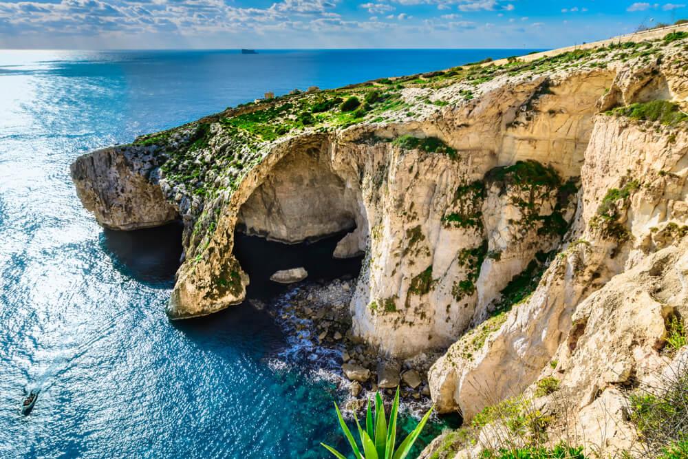 Cueva Azul en Malta