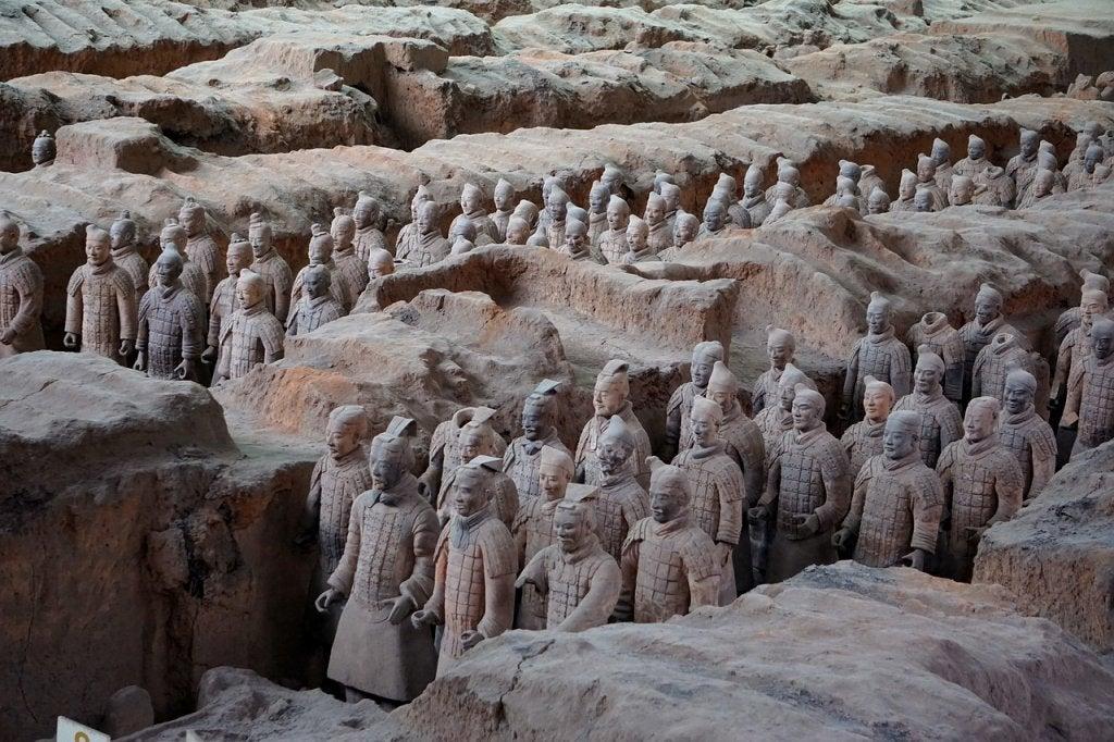 Curiosidades de los Guerreros de terracota de Xian