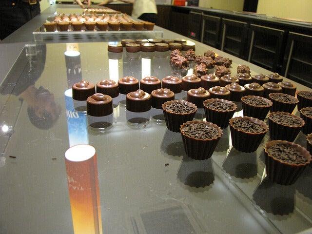 Degustación de chocolates Cailler