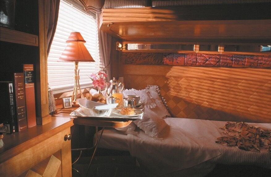 Cabina en el Eastern & Orient Express