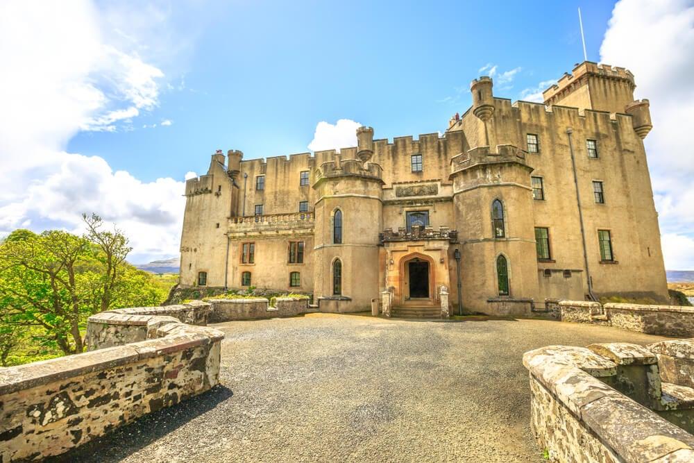 Entrada al castillo de Dunvegan