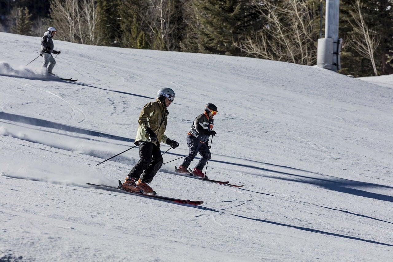 Esquiadores en Aspen