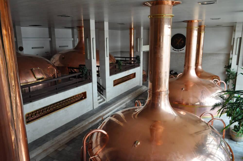 Visita la fábrica de cerveza Budweiser en la República Checa