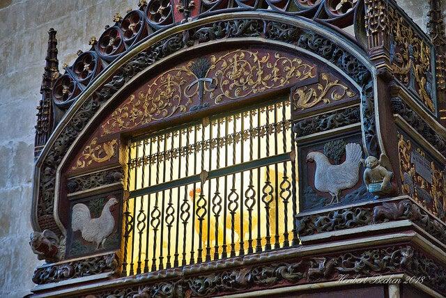 Gallinero de la catedral de Santo Domingo de la Calzada