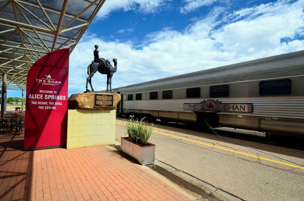Ghan, uno de los viajes en tren más espectaculares