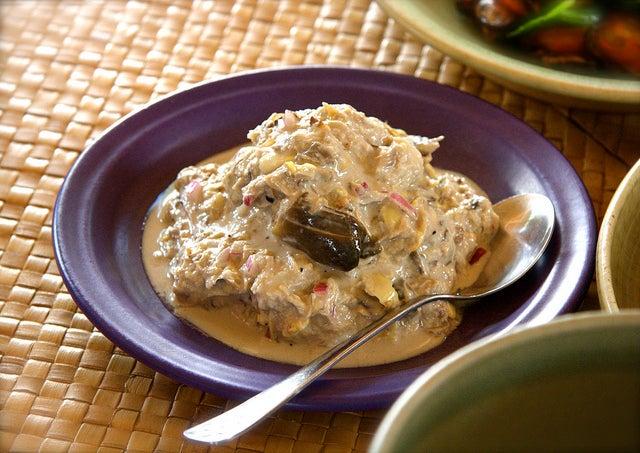 Ginataang, uno de los platos filipinos más famosos